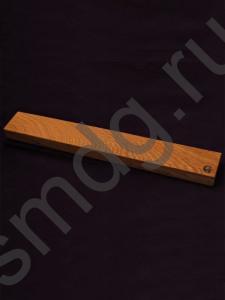 knife holder, Магнитный держатель для ножей. Материал дуб, неодимовые магниты.