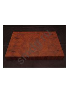 end grain cutting board, Торцевая разделочная доска из палисандра