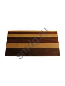 Разделочная доска из дерева: размер 25х45х2 см.